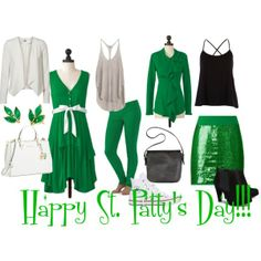 """St. Patty's Day"" by @Meesh & Mia! Get your green gear here!"