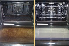 CLEANING YOUR OVEN - The easiest way EVER! Begin by preheating the oven to 150 degrees (or your lowest setting available). While the oven is heating, put on a pot of water to boil. Once the oven ha. Oven Cleaning Hacks, House Cleaning Tips, Diy Cleaning Products, Cleaning Solutions, Spring Cleaning, Cleaning Supplies, Cleaning Wipes, Cleaning Services, Cleaning Oven With Ammonia