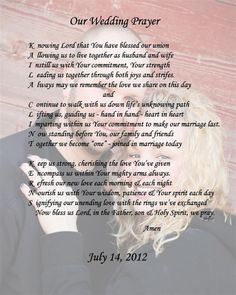 Wedding Poem for a couple who is getting married this summer:)