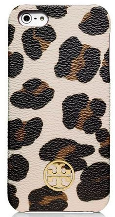 Tory Burch leopard print iPhone case http://rstyle.me/n/g7gr5nyg6