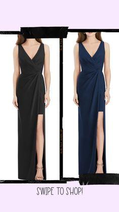 High Low Bridesmaid Dresses, Designer Bridesmaid Dresses, Bridesmaids, Jenny Packham, Nordstrom, V Neck, Gowns, Formal Dresses, Fashion