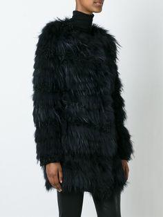 #meteo #yvessalomon #black #fur #coat #jacket #women #fall www.jofre.eu