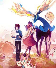 Pokemon x and y fairy Kalos Pokemon, Pokemon Go, Pokemon X And Y, Pokemon Ships, Pokemon Fan Art, Cute Pokemon, Pokemon Fusion, Pokemon Images, Pokemon Pictures