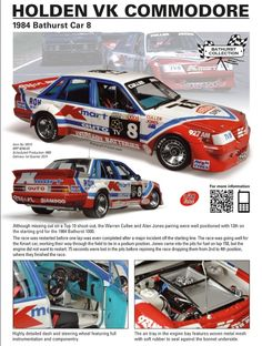 Classic Carlectables - VK Commodore - 1984 Bathurst 4th Place -    http://www.classiccarlectables.com.au/modules/products/display.php?section=3