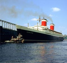 SS United States. The first ship I was ever on - I was a very young child.
