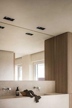 Home Interior Apartment .Home Interior Apartment Modern Bathroom Design, Bathroom Interior Design, Minimal Bathroom, Bathroom Designs, Modern Bathrooms, Modern Luxury Bathroom, Modern Bathroom Lighting, Small Bathrooms, Apartment Interior Design