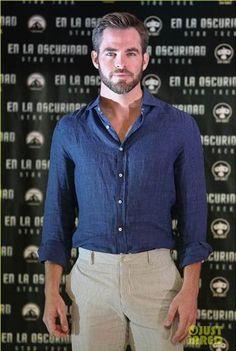 Chris Pine No T-Shirt - Bing Images