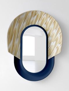 Mask Mirrors by Jean-Baptiste Fastrez for Galerie Kréo
