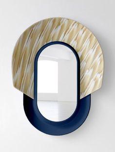 Mask Mirrors by Jean-Baptiste Fastrez for Galerie Kréo