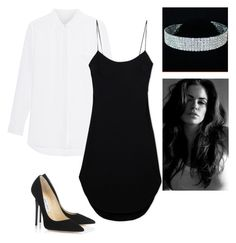 """""""Dangerous Woman"""" by yasminabuwi on Polyvore featuring Jimmy Choo and Maiyet"""
