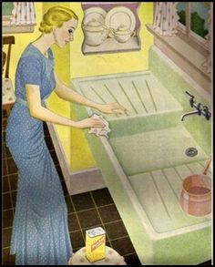 bon ami--this is the sink my grandma had and i dreamed of having but unable to in our home...sigh