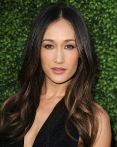 Hair color. Maggie Q. {spring 2014}