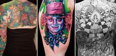 Alice in Wonderland tattoo gallery alice-in-wonderland