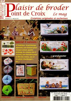 Gallery.ru / Фото #1 - 12 - lutarcik Cross Stitch Designs, Cross Stitch Patterns, Cross Stitching, Cross Stitch Embroidery, Magazine Cross, Cross Stitch Magazines, Cross Stitch Boards, Stitch Book, Noel Christmas