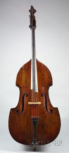 Contrabass c. 1770 Attributed to the Gagliano Family Violin Family, I Love Bass, Beer Opener, Double Bass, Music Store, Classical Music, Musical Instruments, Acoustic, Guitar