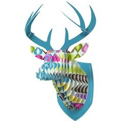 DENY Designs Candy Gouttelette Faux Deer Mount