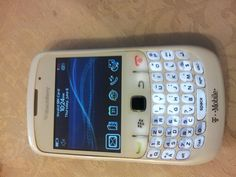 Blackberry Curve 8520 White T-mobile Unlocked Phone - For Sale