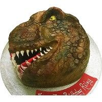 Tyrannosaurus Rex cake is king of the party