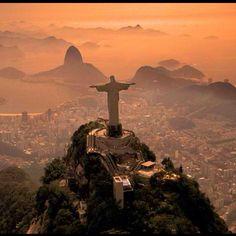 Christ the Redeemer. Rio de Janeiro, Brazil. Totally on my bucket list. The Bucket List Life