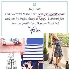 It's here, it's here! Shop our brand new Spring 2017 collection in the link in bio. We think y'all will love it xo