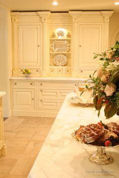 Clive Christian Victorian Kitchen in Antique Cream
