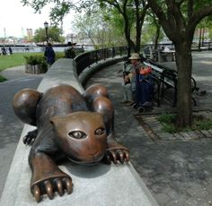 Fun, leisure & freetime in Manhattan. Forget about crowded Central Park, NYC is reinventing the meaning of riverfront