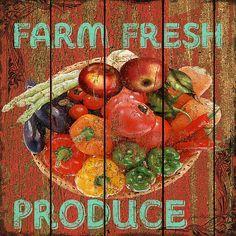 I uploaded new artwork to fineartamerica.com! - 'Farm Fresh Produce' - http://fineartamerica.com/featured/farm-fresh-produce-jean-plout.html via @fineartamerica