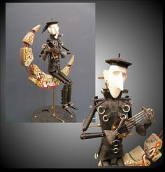 Song for a Dead Moon - by Keith Newstead - Buy Automata from Cabaret Mechanical Theatre - Museum of Automata (mechanical sculpture) buy now from our online shop, UK based