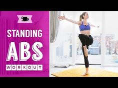 Barre Abs Fitness Workout | Lazy Dancer Tips - YouTube