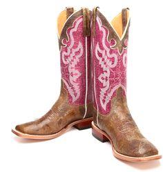 5 Pairs of Pink Cowboy Boots | Horses & Heels
