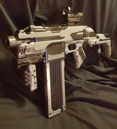 Nerf guns are fine and dandy as Forrest Gump might say, but modded Nerf Guns?