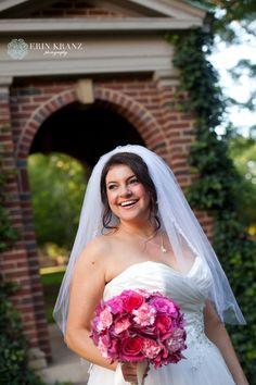 Davidson bridal portrait - Erin Kranz Photography