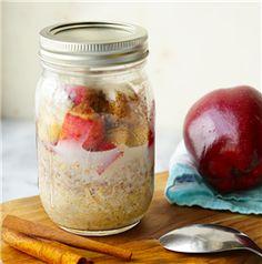 Apple Cinnamon Overnight Oats - Recipe | Quakeroats.com