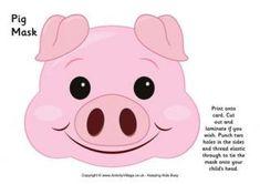 Maschera Pig e altri animali