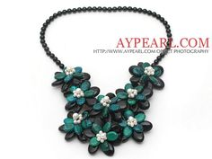 Fashion Style Triangle Shape Wire Wrapped Black Agate and White ...
