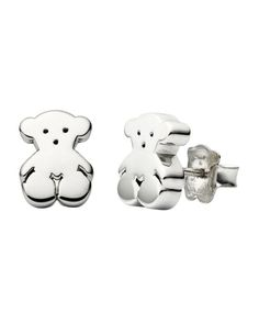 """Tous Bear Stud Earrings 