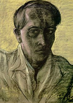 The last Self portrait - Witkacy  11 VIII 1939 Selfies, Phone Charging Stations, Abyssinian, Gcse Art, Playwright, In This World, Literature, Colour, Abstract