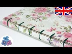 Bookbinding Tutorial Belgian Bookbinding Stitches Techniques at Home for beginners Mathie बाध्यकारी - YouTube