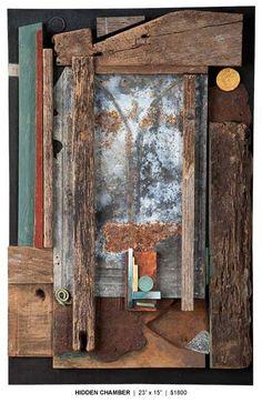 dwain site Wall Sculptures, Sculpture Art, Wood Pallet Art, Found Object Art, Mural Wall Art, Wooden Wall Art, Driftwood Art, Assemblage Art, Recycled Art