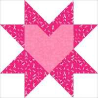 breast cancer quilts | New FREE Quilt Pattern for October Breast Cancer Awareness - Hearts of ...