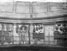 when the rotunda gallery was used to display part of the exotic collections from abroad  #MuseumWeek #BehindTheArt