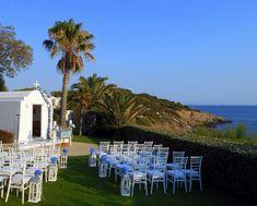 GREEK WEDDING FLOWERS Greece Wedding, Dolores Park, Wedding Flowers, Greek, Travel, Wedding In Greece, Viajes, Destinations, Traveling
