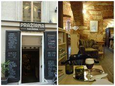 Prazirna cafe Prague