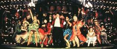Moulin Rouge - so visually stunning on all levels.