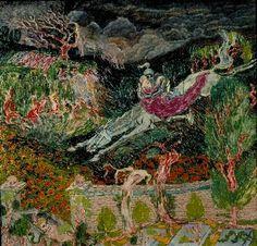 Jan Toorop : Lénore - H.s.T.  - c.1891