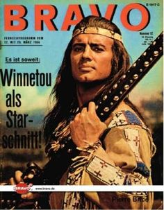 Bravo Magazine - I devoured these film magazines.  This one features Pierre Brice on the cover; he portrayed Winnetou.