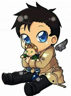 Castiel and Dean !!!