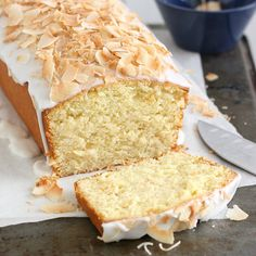 Coconut-Buttermilk Pound Cake | recipe via Tracey's Culinary Adventures
