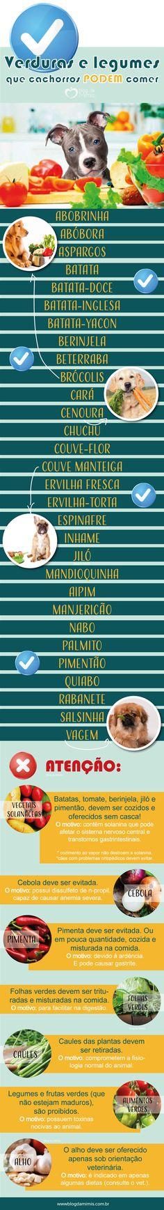 Verduras e legumes bons para cachorro - Blog da Mimis #blogdamimis #verduras #legumes #cachorro #dog #cão #cachorro #alimentação