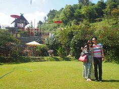 Rumah Straberi Farm, Bandung Indonesia